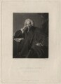 Laurence Sterne, by Samuel William Reynolds, published by  Hodgson & Graves, after  Sir Joshua Reynolds - NPG D4315