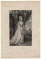 Phillippa Elizabeth Dorothy Malone (née Rooper), Lady Sunderlin, by Frederick Bromley, after  Sir Joshua Reynolds - NPG D4333
