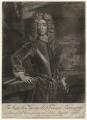 George Byng, 1st Viscount Torrington, by John Faber Sr, published by  Thomas Bakewell, after  Sir Godfrey Kneller, Bt - NPG D4375
