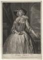 Grace Tosier, by and published by John Faber Jr, after  Bartholomew Dandridge - NPG D4378
