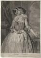 Grace Tosier, by and published by John Faber Jr, after  Bartholomew Dandridge - NPG D4379