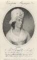 Charlotte Smith (née Turner), by Ridley & Holl, published by  James Asperne, after  George Romney - NPG D4460