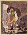 George Hanger, 4th Baron Coleraine ('Georgey in the coal-hole'), by James Gillray, published by  Hannah Humphrey - NPG D4461
