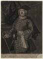 Robert Turbutt as Sosia in 'Amphitryon', by Andrew Miller, after  Thomas Bisse - NPG D4509