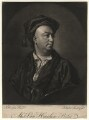Alexander van Haecken, by John Faber Jr, after  Thomas Hudson - NPG D4535