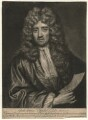 William van de Velde the Younger, by John Smith, after  Sir Godfrey Kneller, Bt - NPG D4555
