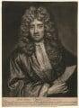 William van de Velde the Younger, by John Smith, after  Sir Godfrey Kneller, Bt - NPG D4555
