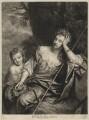 Mrs Voss and a child, by John Smith, after  Sir Godfrey Kneller, Bt - NPG D4576