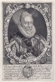 Charles Howard, 1st Earl of Nottingham, by Simon de Passe, published by  Compton Holland - NPG D4592