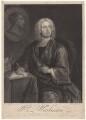 William Warburton, by Thomas Burford, after  Charles Philips - NPG D4611