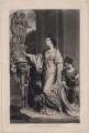 Lady Sarah Napier (née Lennox, formerly Bunbury), by Samuel William Reynolds, after  Sir Joshua Reynolds - NPG D4681