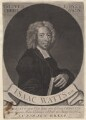 Isaac Watts, by George White, sold by  Edward Dilly, and sold by  Charles Dilly - NPG D4700