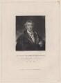 Arthur Wellesley, 1st Duke of Wellington, by David Lucas, after  Sir Thomas Lawrence - NPG D4724