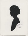 Lady Iris Victoria Beatrice Grace Kemp (née Mountbatten), by Hubert John Leslie - NPG D474