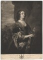 Jane Goodwin (née Wenman), by and published by Josiah Boydell, after  Sir Anthony van Dyck - NPG D4746