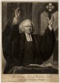 George Whitefield, by John Greenwood, published by  Robert Sayer, after  Nathaniel Hone - NPG D4777