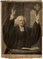 George Whitefield, by John Greenwood, published by  Carington Bowles, after  Nathaniel Hone - NPG D4778