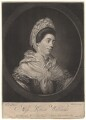 Louisa Williams, by James Wilson, published by  William Darling, after  Francis Farrel - NPG D4795