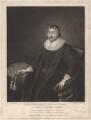 John Williams, by Robert Dunkarton, published by  Edmund Dorrell, after  Cornelius Johnson - NPG D4818