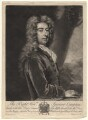 Spencer Compton, Earl of Wilmington, by and published by Peter Pelham, after  Sir Godfrey Kneller, Bt - NPG D4829