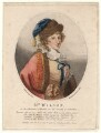 Sarah Wilson as Harriet in Holcroft's 'Seduction', by William Nelson Gardiner, published by  Edward Harding, after  Silvester Harding - NPG D4850