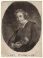 Henry Woodward, after Sir Joshua Reynolds - NPG D4906