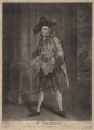 Henry Woodward as the Fine Gentleman in 'Lethe', by James Macardell, sold by  Peter Griffin, after  Francis Hayman - NPG D4907
