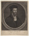 Fictitious portrait called John Wycliffe, by and published by John Faber Sr - NPG D4918