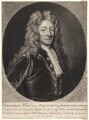 Sir Christopher Wren, by and published by John Smith, after  Sir Godfrey Kneller, Bt - NPG D4924