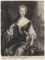 Henrietta Maria Wyvill (née Yarborough), Lady Wyvill, by Isaac Beckett, published by  John Smith, after  Sir Godfrey Kneller, Bt - NPG D4948
