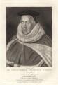 Sir Christopher Yelverton, by Robert Dunkarton, after  Unknown artist - NPG D4958