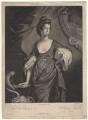 Agneta Yorke (née Johnson), by Valentine Green, after  Francis Cotes - NPG D4961