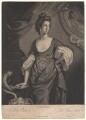 Agneta Yorke (née Johnson), by Valentine Green, after  Francis Cotes - NPG D4962