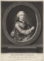 William V, Prince of Orange, by Richard Houston, published by  Robert Sayer, after  Tethart Philipp Christian Haag - NPG D4989