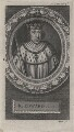 King Edward I, by George Vertue, after  Unknown artist - NPG D5012