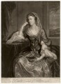 Emilia Mary ('Emily') Fitzgerald (née Lennox), Duchess of Leinster, by James Macardell, after  Sir Joshua Reynolds - NPG D5060