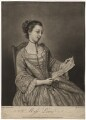 Probably Susanna Campbell (née Lewis), by Richard Purcell (H. Fowler, Charles or Philip Corbutt), after  Jean Etienne Liotard - NPG D5074