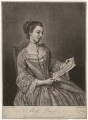 Probably Susanna Campbell (née Lewis), by Richard Purcell (H. Fowler, Charles or Philip Corbutt), after  Jean Etienne Liotard - NPG D5075