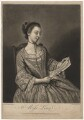 Probably Susanna Campbell (née Lewis), by Richard Purcell (H. Fowler, Charles or Philip Corbutt), after  Jean Etienne Liotard - NPG D5076