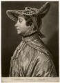 Catherine (née Pelham), Duchess of Newcastle-under-Lyne, by Richard Purcell (H. Fowler, Charles or Philip Corbutt), after  William Hoare - NPG D5084