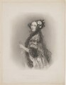 (Augusta) Ada King (née Byron), Countess of Lovelace, by William Henry Mote, after  Alfred Edward Chalon - NPG D5123