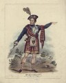 William Charles Macready as Rob Roy McGregor, published by Hodgson & Co - NPG D5188