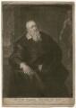 Sir Theodore Turquet de Mayerne, by John Simon, after  Sir Peter Paul Rubens - NPG D5236