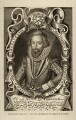 Edmund Sheffield, 1st Earl of Mulgrave, by T. Berry, after  Renold or Reginold Elstrack (Elstracke) - NPG D5316