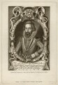 Edmund Sheffield, 1st Earl of Mulgrave, by T. Berry, printed by  McQueen (Macqueen), published by  Thomas Rodd the Elder, after  Renold or Reginold Elstrack (Elstracke) - NPG D5319
