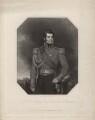 George Augustus Frederick Fitzclarence, 1st Earl of Munster, by Richard Austin Artlett, after  Thomas Phillips - NPG D5321