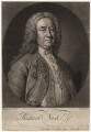 Richard ('Beau') Nash, by John Faber Jr, after  Thomas Hudson - NPG D5327