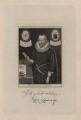Sir Robert Naunton, by Richard Cooper, after  Simon de Passe - NPG D5328