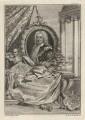 Robert Walpole, 1st Earl of Orford, by George Vertue, after  Christian Friedrich Zincke - NPG D5417