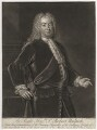Robert Walpole, 1st Earl of Orford, by Gerhard Bockman, after  Thomas Gibson - NPG D5420